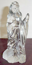 Gorham Nativity Shepherd & Sheep Crystal Figurine - No Staff or Box New