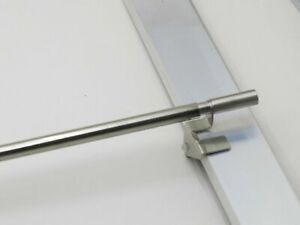 Klemmstange, Scheibengardinenstange für Fensterrahmen mit 40-130 cm