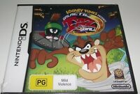 Looney Tunes Galactic Taz Ball DS 2DS 3DS Game *Complete* Marvin Martian