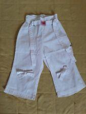Pantalon blanc taille 2 ans