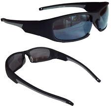 Sportbrille Sonnenbrille Schwarz Grau Brille Sport Fahrradbrille M 18