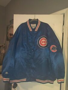 Vintage Cubs Jacket Genuine Merchandise By Majestic. 6XL