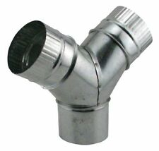 Ideal-Air 736185 Wye Branch Push-to-Connect Fittings Secure Duct 4 x 4 x 4 Inch