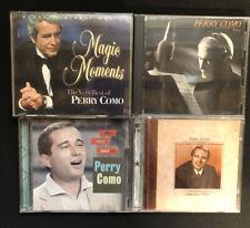 Reader's Digest Magic Moments the Very Best of Perry Como + 3 Bonus Como CD's