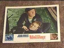 VALIANT  1962 LOBBY CARD #1 JOHN MILLS NAVAL MILITARY
