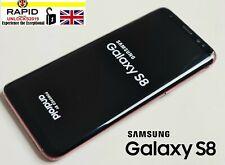 Samsung Galaxy S8 SM-G950F - 64GB-Rosso (Sbloccato) rotto Indietro & Anteriore 0254