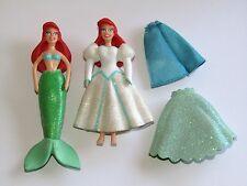 Vestido De Boda Disney Ariel El Pequeño & Sirena juguete figura Set