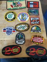 Lot Of 13 Vintage Railroad Patches