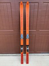 Vintage (Olin Mark IV) Downhill Skis With Bindings