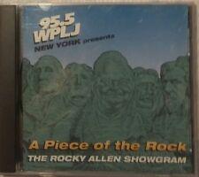 A Piece of the Rock, The Rocky Allen Showgram, Rocky Allen Show, 95.5 WPLJ, CD