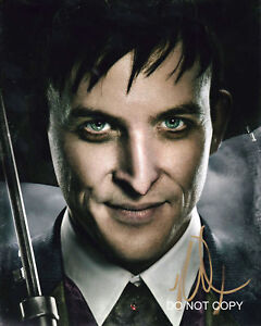 """Robin Lord Taylor Gotham Oswald Cobblepot 11x14"""" Reprint Signed Poster RP"""
