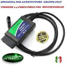 ECUSCAN MULTI FIAT ALFA ELM 327 1.4 DIAGNOSI UNIVERSALE MODIFICATA LINEA CAN OBD
