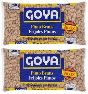 Goya Pinto Beans/Frijoles Pintos 2 Pack