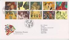 GB Royal mail FDC 1995 Saluti in arte Set Bureau PMK