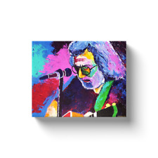 Jerry Garcia Grateful Dead Painting Canvas Print
