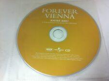 Jamais De Vienne André Rieu Johann Strauss Orchestra CD 2011 DISQUE seulement en