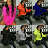 Ladies Women Chunky Knitted High Polo Roll Neck Baggy Oversized Jumper Dress Top