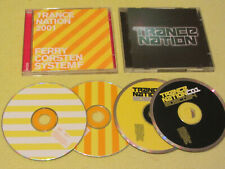 Trance Nation & Trance Nation 2001 2 Albums 4 CDs mixed by Ferry Corsten Dance