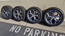 "New 18"" BMW X1 F48 factory Y-Spoke 569 OEM wheels rims run-flat tires TPMS 19 a"