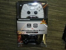 2 PLAYSTATION 3 PS3 WIRELESS CONTROLLER GAMEPAD BRAND NEW! Game Pad Twin Pack PC
