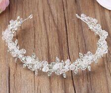 Crystal Bridal Wedding Tiara Bride headbands bridal hair accessories  with cryst