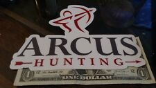 ARCUS Hunting - Outdoors/Bow Hunting- Vinyl Decal Sticker