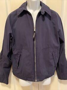 ON SALE! VTG mc gregor mcgregor reversible jackets zipper double pockets puffer down black brown large #817
