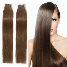 CLEARANCE Tape In 100% Human Remy Hair Extensions THICK Black Brown Blonde P293