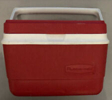 New listing Rubbermaid Gott Personal Lunch Box 1907/1927 Cooler Red 10.5�x7.5�x7.5� Od