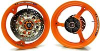 Honda Racing Wheel Rim Logo Sticker Decal HRC MotoGP Repsol 93 Marquez x 8 pce