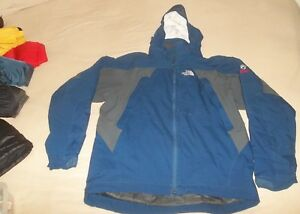 The North Face Plasma Primaloft Thermal Parka Jacket Coat Blue $299 Large TNF