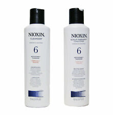 Nioxin Cleanser & Scalp Therapy Duo SYSTEM 6 Noticeably Thinning Hair 5.07 oz
