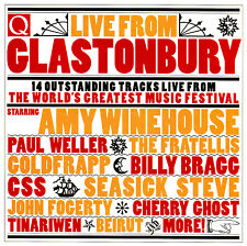 LIVE FROM GLASTONBURY / VARIOUS ARTISTS-feat.AMY WINEHOUSE,PAUL WELLER,BILLY BRA