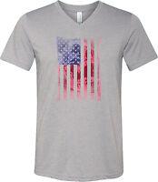 Buy Cool Shirts Ladies Union Jack Shirt Flag Bottom Print Tri Blend Long Sleeve