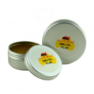 Emu Oil Plus Muscle Joint Rub Camphor Menthol Warming Anaestic Natural 50ml UK