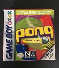 PONG - Vintage Game boy Colour game - Boxed & complete Retro