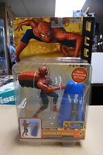 SPIDER-MAN 2 ~ RAPID PUNCH SPIDER-MAN w/Punching Bag 2004 NIP