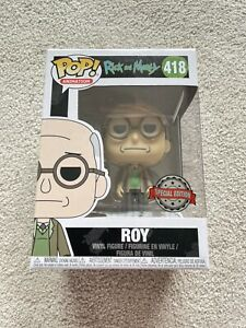 Funko Pop! Animation: Roy Rick And Morty #418 Vinyl Figure SPECIAL EDITION