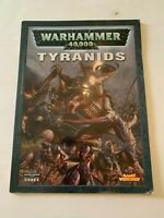 2004 Warhammer 40,000 Tyranids Codex by Games Workshop Softcover