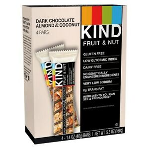Kind Fruit and Nut Dark Chocolate Almond and Coconut