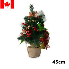 LIVINGbasics® Artificial Christmas Tree with Ornament, 45cm