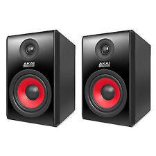 2 X AKAI Rpm800 Powered Active Studio DJ Monitor Speaker Proximity Control 240w