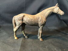Old Vtg Collectible Die Cast Cast Metal Equine Horse Farm Animal Mammal