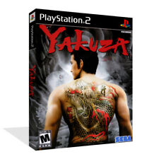 Yakusa ps2 playstation 2 Replacement Game Box Case + Cover Art Work no game