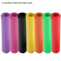 1Pair Bicycle Handlebar Soft Grips Cover MTB Bike Bicycle Silicone Anti-slip SD