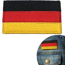 Germany flag iron on patch - German Bundesflagge - Deutschland flags patches