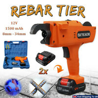 12V Automatic Rebar Tier Building Tying Machine Handheld Tool Strapping 8-34mm