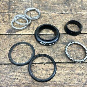 """Aheadset HeadSet Black Vintage Head Set 1 1/8"""" Threadless MTB USA Parts Upper"""