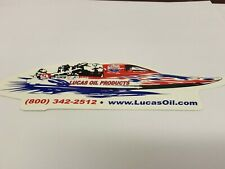 Lucas Oil Products Inc., Sticker, Lucas Oil Racing Boat