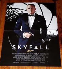 AFFICHE CINEMA  2012 SKYFALL JAMES BOND 007 DANIEL CRAIG BARDEM MARLOHE HARRIS